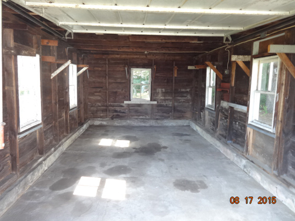 Cleanedout basement